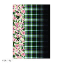 Detalhes do produto Xadrez Floral - 1437