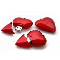 Detalhes do produto b-Pen drive coração