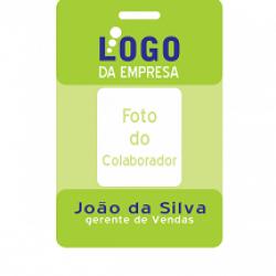 Detalhes do produto Crachá PVC ´personalizado -b99