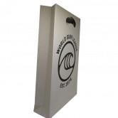 Sacola de Papel Reciclato Personalizada-1129 - Foto 1