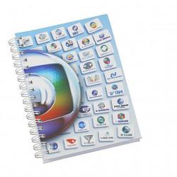 Detalhes do produto Caderno Personalizado-0208