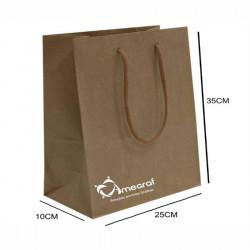 Detalhes do produto Sacola de Papel Kraft Personalizada-1208