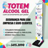 Totem Álcool Gel Slim Personalizado - 1218 - Foto 1