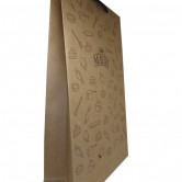 Sacola de Papel Kraft Personalizada-1228 - Foto 1