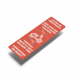 Detalhes do produto Adesivo Lacre de Segurança-1273